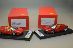 toy ferrari 458 ferrari 458 spider rosso corsa mk modellautoshop exclusive car