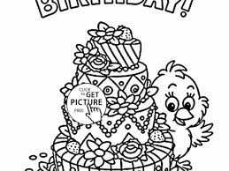18 holiday coloring pages for kids happy 1st birthday card