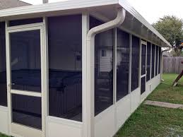 Outdoor Screen House by Screen Rooms A 1
