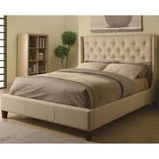 King Size Tufted Headboard Bed Frames King Size Bed Dimensions Upholstered King Bed With