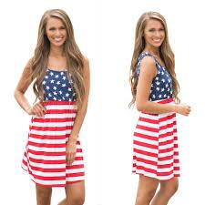 Flag Dress American Flag Sundress Oasis Amor Fashion