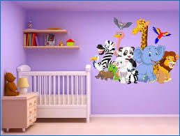 sticker mural chambre bébé stickers muraux chambre bebe pas cher lzzy co