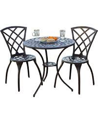 Copper Bistro Chair Amazing Deal On Outdoor Cast Aluminum Copper Bistro Set