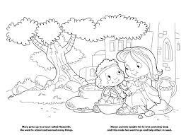 mary u2013 coloring book u2013 icharacter org