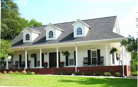 one level house plans with porch collection one house plan with front porch home