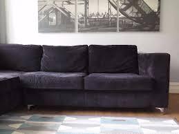Second Hand Garden Furniture Merseyside Black Sofology Left Hand Corner Sofa In New Brighton Merseyside