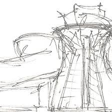 cityofsound sketches of gehry u0027s guggenheim
