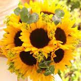 gorgeous sunflower wedding centerpieces global rose