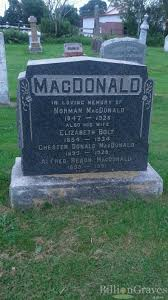 Donald Macdonald by Grave Site Of Chester Donald Macdonald 1895 1928 Billiongraves