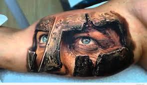 Tattoos On Biceps For - spartan bicep on inner bicep