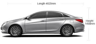 hyundai sonata transform specifications features 0 0 mileage