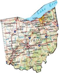 map of ohio map of ohio oh state map