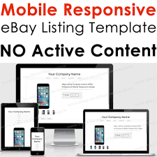 template responsive ebay listing html auction professional mobile