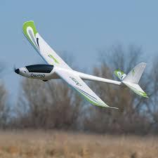 amazon com flyzone calypso ep powered glider arf rc airplane