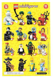 Lego Blind Packs A Visual Guide And Checklist For Lego Blind Pack Minifigure Series