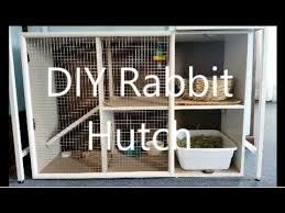 Build Your Own Rabbit Hutch Diy Rabbit Hutch Youtube
