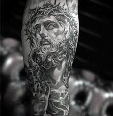 50 jesus forearm tattoo designs for men christ ink ideas