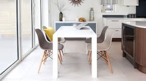 White Gloss Dining Table And Chairs Home Design Graceful Eames Style Dining Table Dsw White