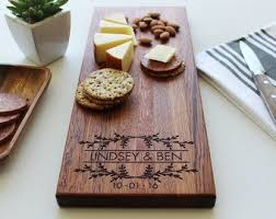 personalized cheese board personalized cheese board wedding gift custom name