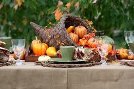 thanksgiving table decorations flagsonastickblog