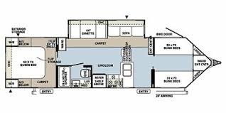 Rockwood Trailers Floor Plans Full Specs For 2011 Forest River Rockwood Windjammer 3006w Rvs