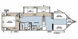 Rockwood Travel Trailer Floor Plans Full Specs For 2011 Forest River Rockwood Windjammer 3006w Rvs