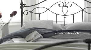 metal bed frames ornate romantic darcey beds u0026 nickel bed