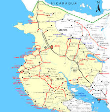 Street Map Of San Jose Costa Rica by Map Of Guanacaste Costa Rica Pinterest Costa Rica