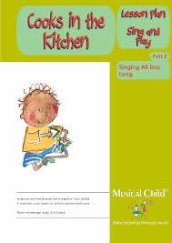 Cooks In The Kitchen by Cooks In The Kitchen Preschool Music Lesson Plan 2 Download
