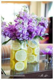 decorations blue and purple flower arrangements best wedding