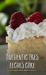 authentic tres leches cake recipe vanilla sponge cake milk