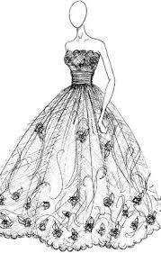 lace dress designs sketches lace dress