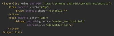 android missing layout width simplifying layouts with layer list drawables androidpub