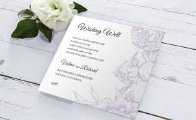 Wedding Registry Cards For Invitations Personalized Stationery Sets For Your Wedding Day
