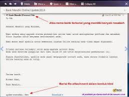 email mandiri investigasi email phising atas nama bank mandiri dikirim melalui