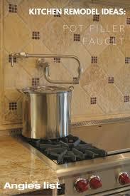 all about pot filler faucets u2014 faucet spotlight pot filler