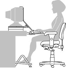 popular of ergonomic desk setup with productivity and ergonomics