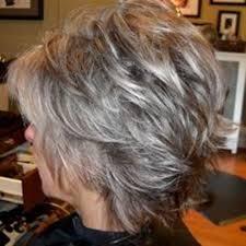short hair with shag back view twenty short gray haircuts short pixie gray hair and pixies