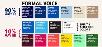 pantone color palette color and typography csusm
