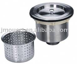 Kitchen Sink Strainer Basket Replacement - stainless steel kitchen sink drain strainer basket basket