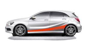 autoaufkleber design mercedes a klasse pkw autoaufkleber de