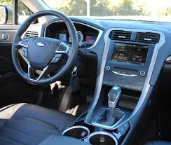 2011 Ford Fusion Interior 2013 Ford Fusion Se 1 6 Ecoboost Ridelust Review