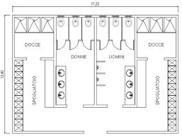 armadietti spogliatoio dimensioni servizi spogliatoi 2 dwg
