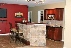 bar top simple basement bar ideas with images about basement bar
