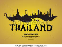 thai design thailand travel design vector clipart vector search illustration