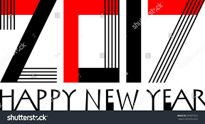 business style 2017 happy new year stock vector 500974333