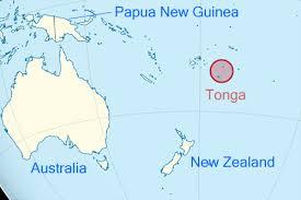tonga map oceania view of tonga