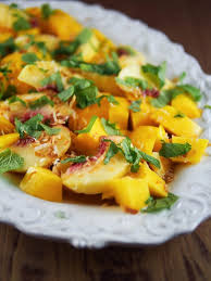 mango mojito recipe peach and mango mojito fruit salad foodmanna