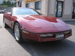 1988 corvette for sale 1988 chevrolet corvette 4 3 for sale in warwick ri 7000