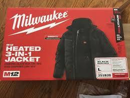 Milwaukee Men U0027s Large M12 12 Volt Lithium Ion Cordless Black 3 In